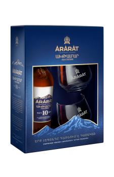 ARARAT  Akhtamar with 2 glasses