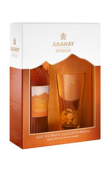 ARARAT  Apricot with 1 glass