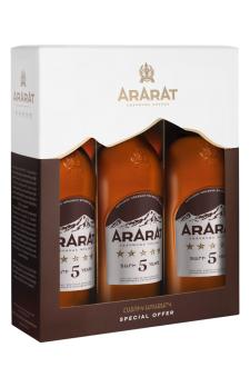 ARARAT  Five Stars Triple pack