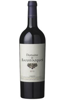 DOMAINE DE BARONARQUES  Rouge  2012