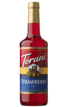 TORANI Strawberry  (2 bottles)