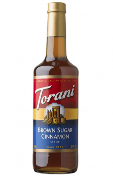 TORANI Brown Sugar Cinnamon  +  TORANI Strawberry (gift)