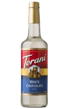 TORANI White Chocolate  (Chocolate Bianco) + TORANI  Cherry