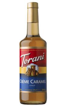 TORANI Crème Caramel + TORANI  Cherry