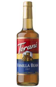 TORANI Vanilla Bean  + TORANI  Cherry