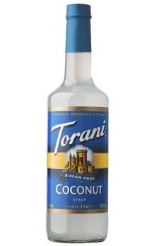 TORANI Sugar-Free Coconut  + TORANI  Cherry