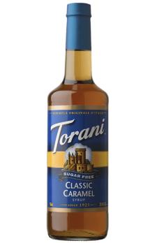 TORANI Sugar Free Classic Caramel