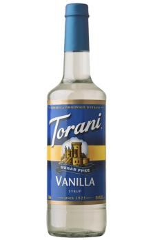 TORANI Sugar-Free Vanilla + TORANI  Cherry