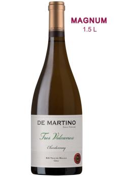"""DE MARTINO  """"Tres Volcanes""""  Chardonnay 2017 MAGNUM"""