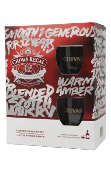 CHIVAS Chivas Regal 12 2 glasses pack