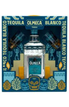 OLMECA BLANCO 2 Shot Glasses Pack